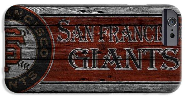 San Francisco Giants iPhone Cases - San Francisco Giants iPhone Case by Joe Hamilton