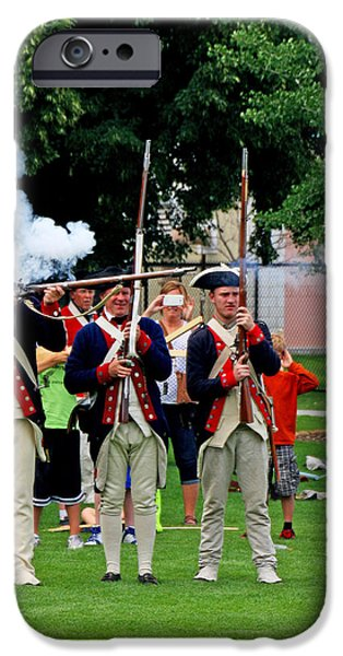 4th Of July iPhone Cases - 1776 Revisited iPhone Case by John Langdon
