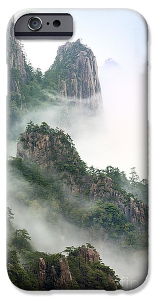 Fog Mist Photographs iPhone Cases - Beauty In Nature iPhone Case by King Wu