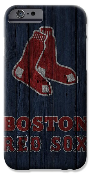 Boston Red Sox iPhone Cases - Boston Red Sox iPhone Case by Joe Hamilton