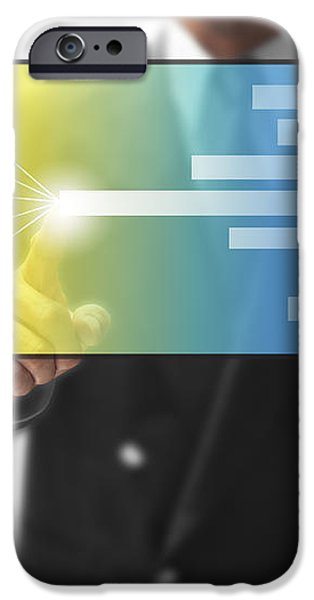 business abstract iPhone Case by ATIKETTA SANGASAENG