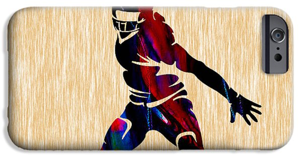Sports iPhone Cases - Football iPhone Case by Marvin Blaine