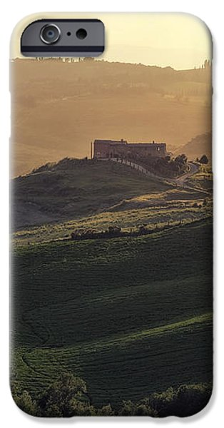 Tuscany - Val d'Orcia iPhone Case by Joana Kruse