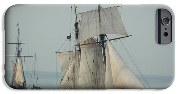 1812 Pride Of Baltimore II iPhone Case by Marcia Lee Jones