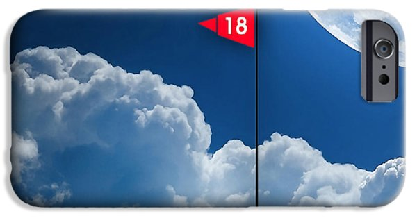 Fantasy iPhone Cases - 18th Hole iPhone Case by Marvin Blaine