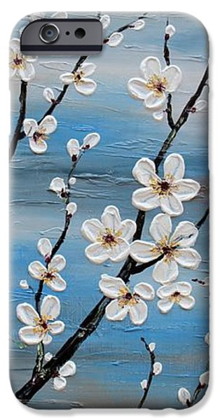 Recently Sold -  - Tree Art Print iPhone Cases - Cherry Blossoms iPhone Case by Tomoko Koyama