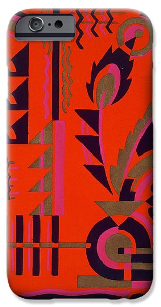 Motif iPhone Cases - Design from Nouvelles Compositions Decoratives iPhone Case by Serge Gladky