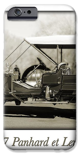 1907 Panhard et Levassor iPhone Case by Jill Reger