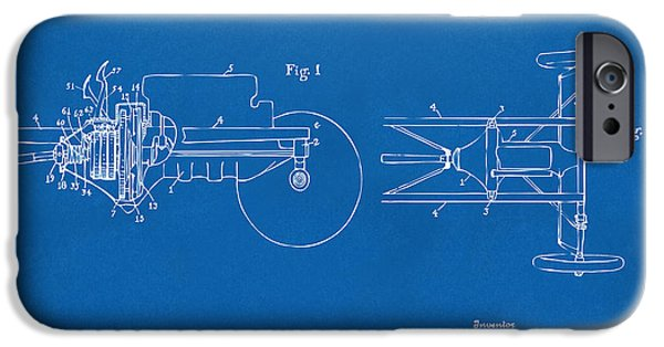 Model iPhone Cases - 1911 Henry Ford Transmission Patent Blueprint iPhone Case by Nikki Marie Smith