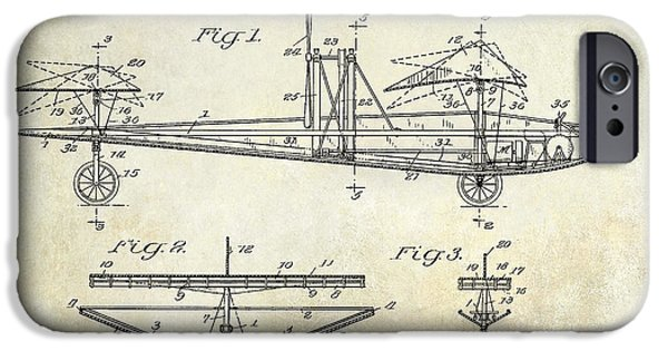 Airplanes Photographs iPhone Cases - 1914 Water Land and Air Machine Patent iPhone Case by Jon Neidert