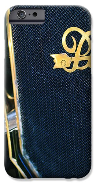 1916 Pierce-Arrow 48 Phaeton Grille Emblem iPhone Case by Jill Reger