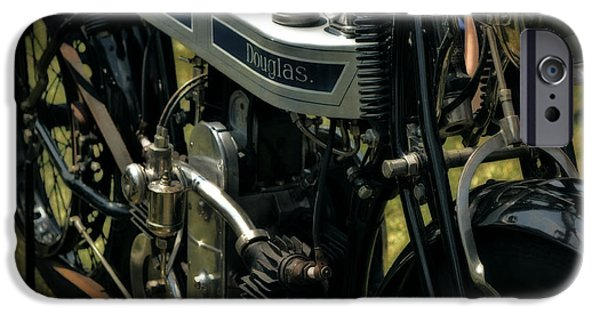 Pinstripes iPhone Cases - 1923 Douglas iPhone Case by Michelle Calkins