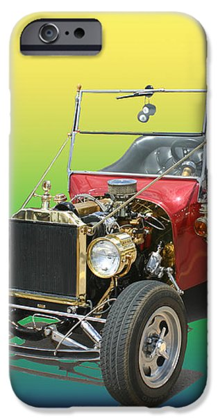1923  Ford T BUCKET  iPhone Case by Jack Pumphrey