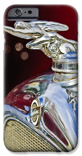 1928 Studebaker Hood Ornament 2 iPhone Case by Jill Reger