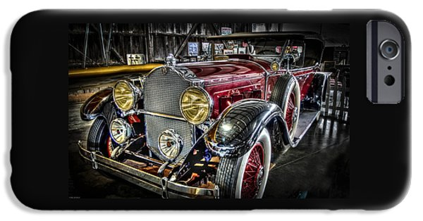 Automotive iPhone Cases - 1929 Packard Phaeton iPhone Case by Thom Zehrfeld
