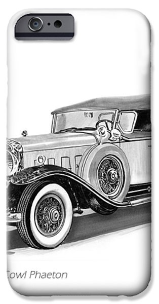 1931 Cadillac Phaeton iPhone Case by Jack Pumphrey