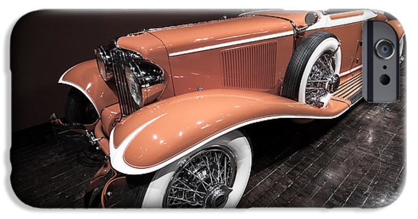 Frist Museum iPhone Cases - 1930 Cord L-29 Cabriolet iPhone Case by Steve Munoz