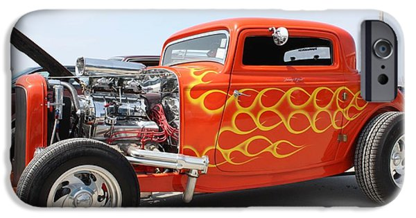 Model iPhone Cases - 1932 Ford Coupe iPhone Case by John Telfer