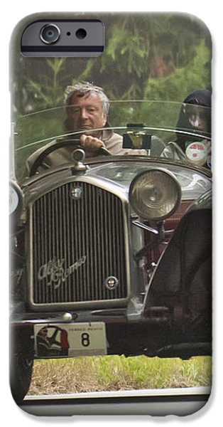 1933 Alfa Romeo 8C Corto Touring Spyder iPhone Case by Jill Reger