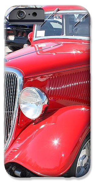 1934 Ford Greyhound Two Door Sedan iPhone Case by JOHN TELFER