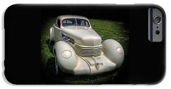 Automotive iPhone Cases - 1936 Cord Automobile iPhone Case by Thom Zehrfeld