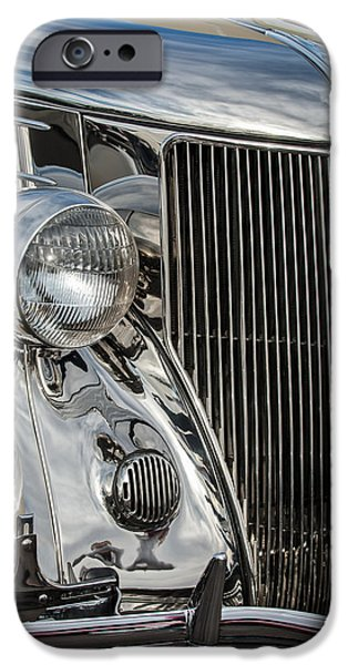 Best Sellers -  - Stainless Steel iPhone Cases - 1936 Ford Stainless Steel Grille iPhone Case by Jill Reger
