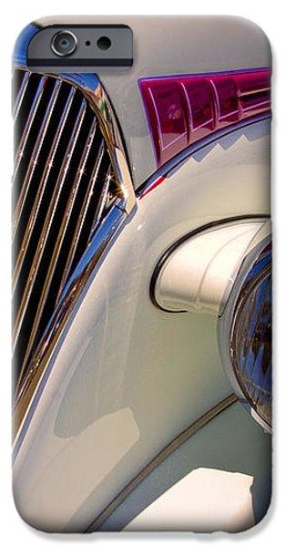 1937 Chevy 4 door sedan iPhone Case by David Patterson