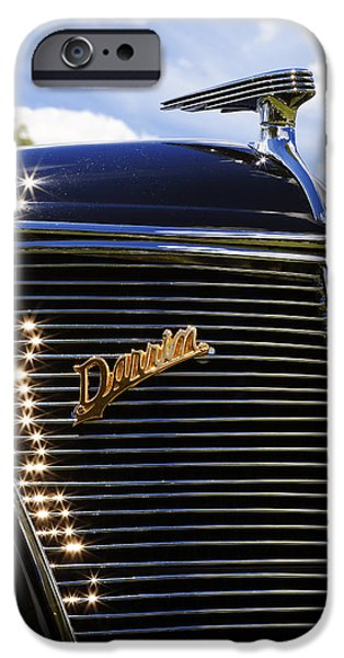 1937 Ford Model 78 Cabriolet Convertible by Darrin iPhone Case by Gordon Dean II
