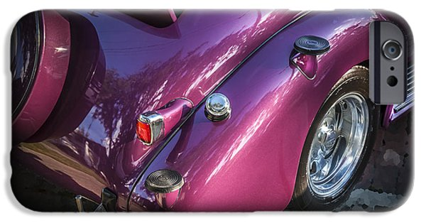 2 Seat iPhone Cases - 1938 Chevrolet Coupe with Rumble Seat iPhone Case by Rich Franco