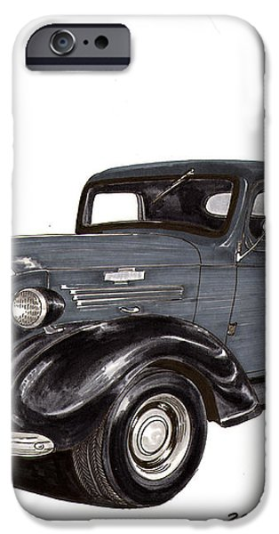 1938 Chevy Pickup iPhone Case by Jack Pumphrey