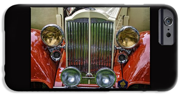 Automotive iPhone Cases - 1938 Classic Packard  iPhone Case by Thom Zehrfeld