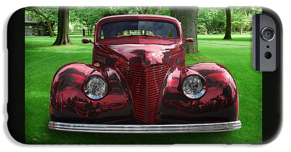 Racing iPhone Cases - 1938 Ford Coupe iPhone Case by Richard Farrington