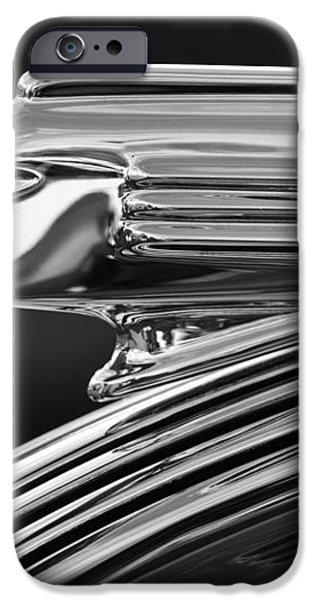1939 Pontiac Silver Streak Hood Ornament 3 iPhone Case by Jill Reger