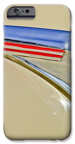 1940 Chevrolet Pickup Hood Ornament 2 iPhone Case by Jill Reger