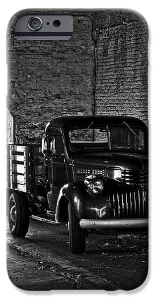 1940 Chevrolet pickup truck in Alcatraz Prison iPhone Case by RicardMN Photography
