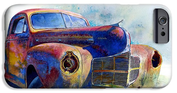 Old Truck iPhone Cases - 1940 Dodge iPhone Case by Andrew King