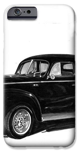 1940 Ford Restro Rod iPhone Case by Jack Pumphrey