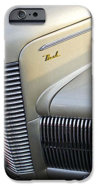 1940 Nash Grille iPhone Case by Jill Reger