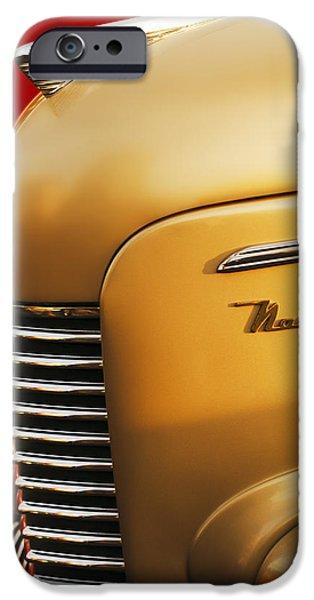 1940 Nash Sedan Grille iPhone Case by Jill Reger