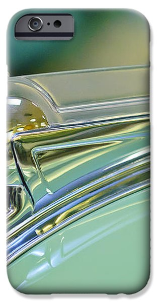 1940 Oldsmobile Hood Ornament iPhone Case by Jill Reger