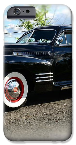 1941 Cadillac Coupe iPhone Case by Paul Ward