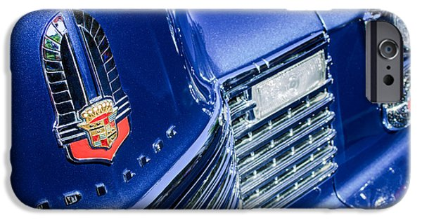 1941 iPhone Cases - 1941 Cadillac Emblem iPhone Case by Jill Reger