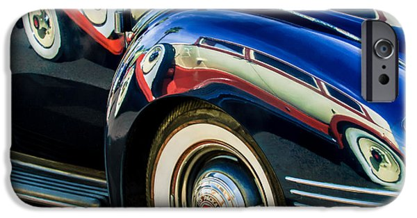 1941 iPhone Cases - 1941 Packard 110 Deluxe -1092c iPhone Case by Jill Reger