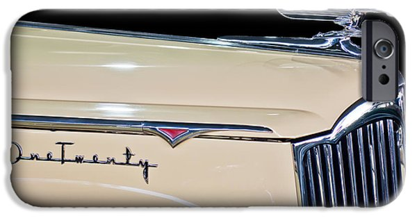 1941 iPhone Cases - 1941 Packard Hood Ornament iPhone Case by Jill Reger