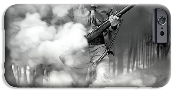 World War One iPhone Cases - 1942 iPhone Case by Daniel Hagerman