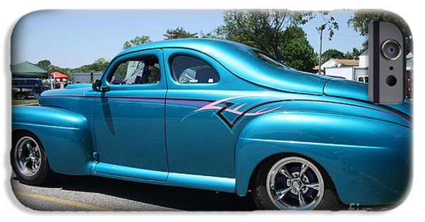 Automotive iPhone Cases - 1942 Ford Two Door Sedan Side View iPhone Case by John Telfer