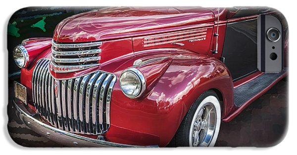 Delivery Truck iPhone Cases - 1946 Chevrolet Sedan Panel Delivery Truck  iPhone Case by Rich Franco