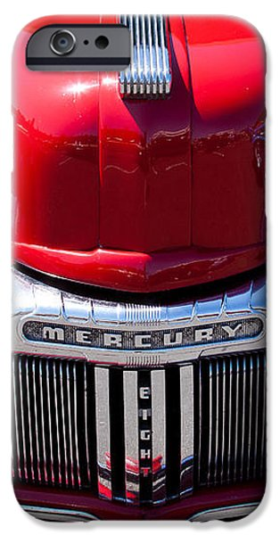 1946 Ford Mercury Eight iPhone Case by David Patterson