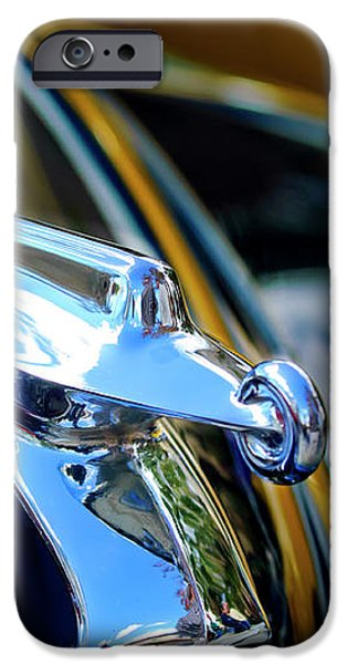 1947 Packard Hood Ornament 4 iPhone Case by Jill Reger