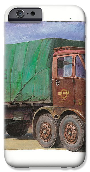 1947 Scammell R8 iPhone Case by Mike  Jeffries